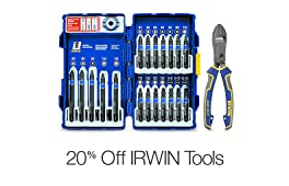 20% Off Select Irwin Hand Tools and Accessories