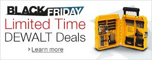 Limited Time DEWALT Deals