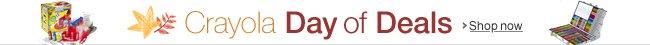 Crayola Day of Deals