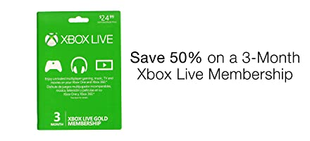 Save on Xbox Live Subscriptions