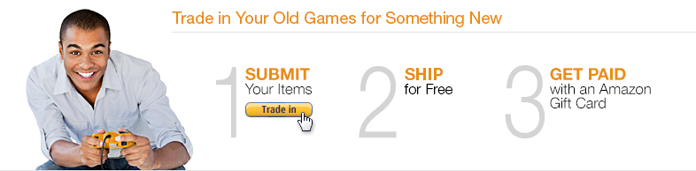 Trade in Your Old Games for Something New