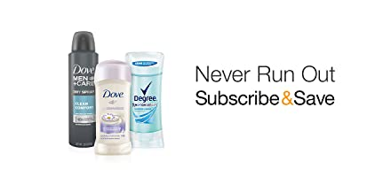 Subscribe & Save in Deodorant
