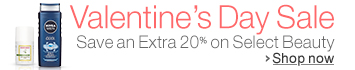 Beauty 20% Off Valentine's