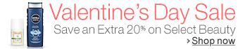 Beauty 20% Off Valentine's