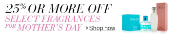 Save on Fragrance for Mother's Day