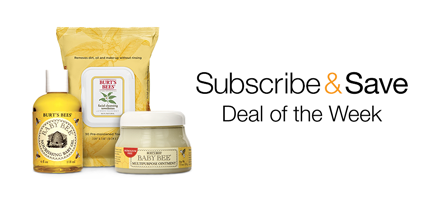 Subscribe and Save on Baby Care Essentials