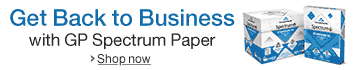 Back to Business with GP Spectrum Paper