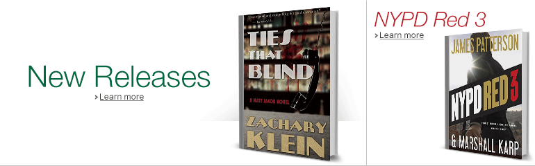 Mystery,Suspense and Thriller titles for March