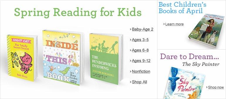 Spring Reading for Kids