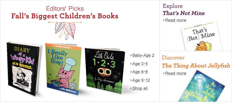 Fall's Biggest Children's Books