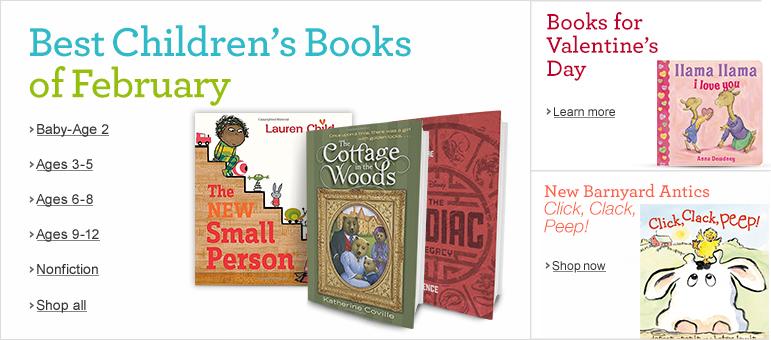 Best Children's Books of February