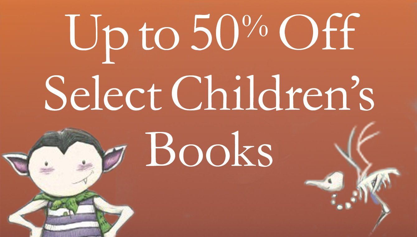 50% Off Select Children's Books