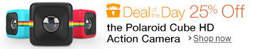 Deal of the Day: 25% Off the Polaroid Cube HD Action Camera