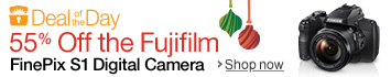 Gold Box Deal of the Day: 55% Off the Fujifilm S1 Digital Camera