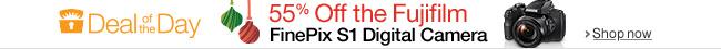 55% Off the Fujiflim Finepix S1 Digital Camera