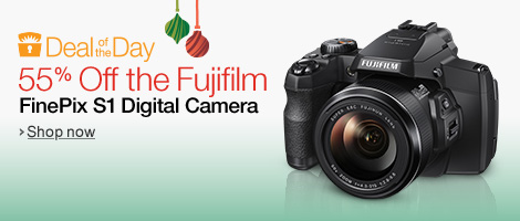 Deal of the Day: 55% Off the Fujifilm FinePix S1 Digital Camera