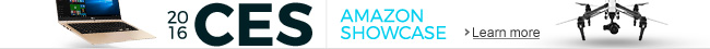 CES 2016 - Amazon Showcase