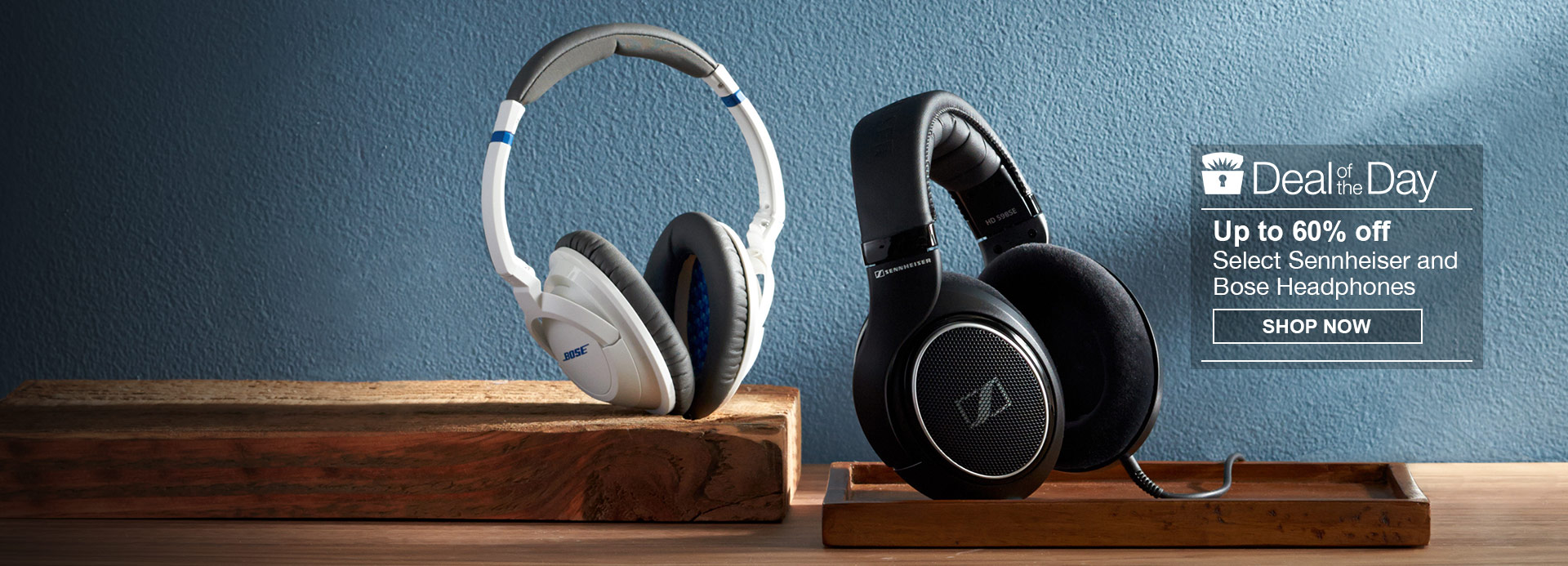 Up to 60% Off Select Sennheiser and Bose Headphones