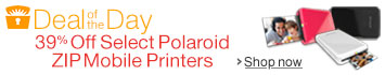 Deal of the Day: 39% Off Select Polaroid ZIP Mobile Printers