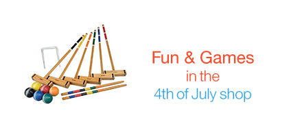 Fun & Games in the 4th of July Shop