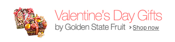 Golden Sate Fruit Valentine's Day Gifts