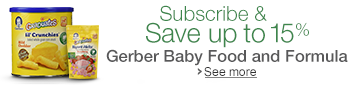 Subscribe & Save on Gerber