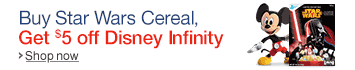 Buy Star Wars Cereal, Save $5 on Disney Infinity 3.0 Purchase of $20 or more