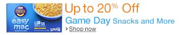 Game Day Savings