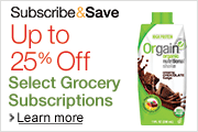Up to 25% Off Groceries
