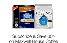 30% Off Maxwell House with Subscribe & Save