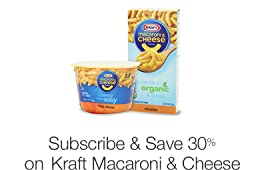 30% Off Kraft Dinners with Subscribe & Save