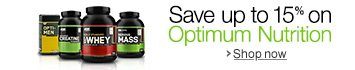 Save up to 15% on Optimum Nutrition When You Subscribe