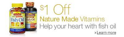 $1 off Nature Made Vitamins