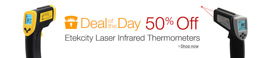 50% off InfraRed thermometers