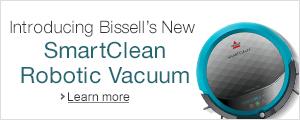 Bissell's SmartClean Robotic Vacuum