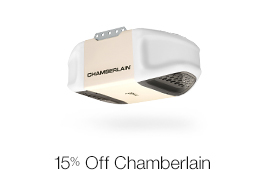 15% Off Chamberlain