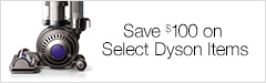 Save $100 on Dyson