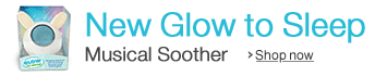 New Glow to Sleep Musical Soother