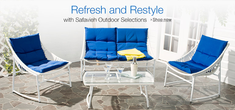 Refresh and Restyle with Safavieh Outdoor Selections