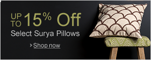 Up to 15% Off Select Surya Pillows