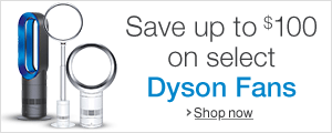 Save up to $100 on Dyson Fans