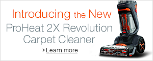 Introducing Bissell's ProHeat 2X Revolution
