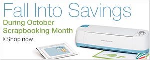 Fall Into Savings During October Scrapbooking Month