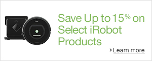 Save 10-15% on Select iRobot Products