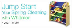 Whitmor Spring Cleaning