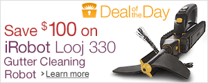 Save $100 on iRobot Looj Gutter Cleaning Robot