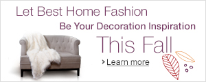 Redecorate with Best Home Fashion