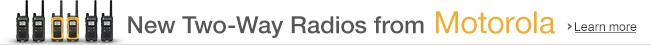 New Two-Way Radios from Motorola