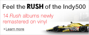 Rush vinyl remastered