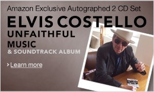 Elvis Costello Autographed CD